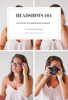 Photography Tips for Bloggers and small business | How to Take Great Headshots | Headshot tips for creatives, entrepreneurs and professionals