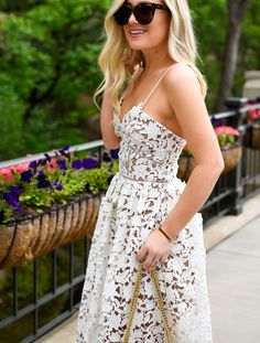 White Lace Dress | Lomurphy.com