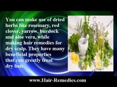 Hair remedies for dry scalp -  CLICK HERE for The No. 1 Itchy Scalp, Dandruff, Dry Flaky Sore Scalp, Scalp Psoriasis Book! #dandruff #scalp #psoriasis  in this video you will figure out the main causes of dry scalp and the best hair remedies for dry hair treatment. Herbs, jojoba oil and honey are effective hair remedies for... - #Dandruff