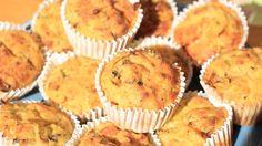 Sýrové muffiny z polenty a pórku