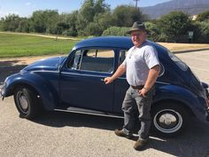 Richard Hugo, of Carpinteria, California, may be the only Tesla Model S owner in the world who prefers to drive his other car. But it's not as crazy as it sounds; his second set of wheels is a gorgeous blue 1967 Volkswagen Beetle that he's converted to electric power. It gets just as...