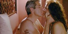 """Romantic Comedies: Pretty Woman (1990) - """"Edward: So what happened after he climbed up the tower and rescued her? Vivian: She rescues him right back."""" #love #quote #prettywoman #couple #kiss"""