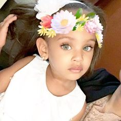 My baby looks beautiful Cute Toddlers, Cute Kids, Cute Babies, Baby Kids, Baby Baby, Cute Little Baby, Pretty Baby, Pretty Eyes, Beautiful Black Babies