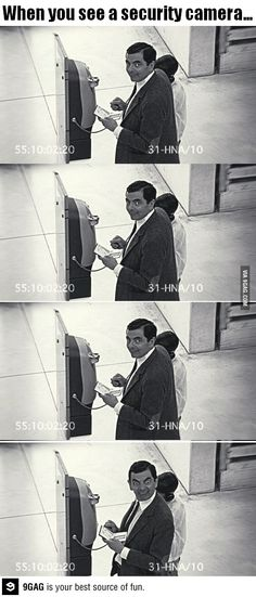 I've learned so much growing up with Mr. Bean, and even at 30, I'll never stop pulling this maneuver out when necessary lol:)) #MrBean