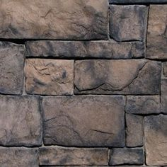 Order Kodiak Mountain Stone Manufactured Stone Veneer - Southern Hackett Thin Stone Walnut / Rough Cut / 120 Sq Ft Crate, delivered right to your door. Manufactured Stone Veneer, Hardwood Floors, Flooring, Brick Colors, Wall Cladding, Building Materials, Rough Cut, Natural Stones, Interior And Exterior