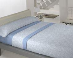Coralina Dolce modelo Munich en azul de Llar Textil