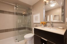 Need ideas for a small bathroom renovation? Check out these 8 ways to make a small bathroom feel bigger from renovation expert Scott McGillivray Lighted Bathroom Mirror, Remodel, Heated Towel Rack, Small Bathroom, Bathroom, Bathroom Renovations, Mold In Bathroom, Home Interior Design, Bathroom Renovation