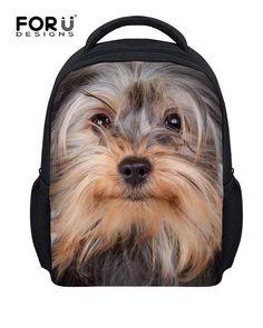 62077837a880 Yorkie Backpack Bags. Animal BackpacksBoys BackpacksSchool ...
