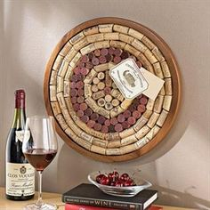 Round Wine Cork Board Kit | Overstock.com Shopping - The Best Deals on Accent Pieces
