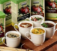 I love these natural soup mixes - easy & delicious.