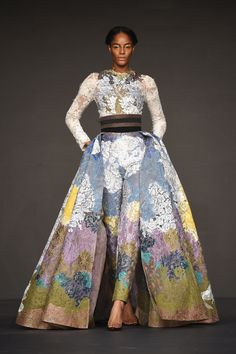 Hussein Bazaza Fashion Forward Fall 2016