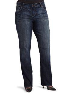 Women's Plus-Size Farrah Bootleg Jean. KUT from the Kloth Women's Plus-Size Farrah Bootleg Jean.