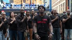 theGRIO REPORT - Broadway stars, directors, producers, musicians, choreographers, designers and technicians from some of the most prominent productions gathered in front of the police station in Ti...