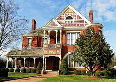 Beautiful Brick Victorian House in Dalton, Georgia by Traveled Roads, via Flickr
