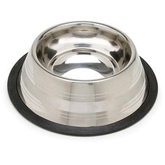 Harmony TwoToned NoTip Stainless Steel Dog Bowl 375 cup Medium *** You can find out more details at the link of the image.(This is an Amazon affiliate link and I receive a commission for the sales)