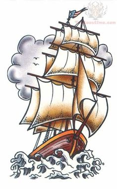 ship tattoo - Google Search