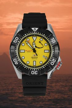 Orient M-Force Air Diver - water resistant, 40 hour power reserve Best Looking Watches, Delta Force, Automatic Watches For Men, 200m, Fit, Water, Gripe Water, Shape