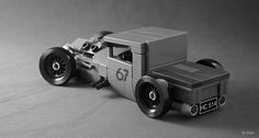 Lego MOC - Mike Burroughs' BMW-Powered 1928 Ford Model A / Tyler Calin