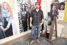 VIDEO: Style Curator Natalie Kates visits Tim Okamura's studio - http://art-nerd.com/newyork/video-style-curator-natalie-kates-visits-tim-okamuras-studio/