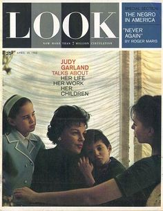 Judy talks to LOOK — with Lorna Luft, Judy Garland, Joey Luft and Liza Minnelli. Star Magazine, Look Magazine, Lorna Luft, Celebrity Siblings, Liza Minnelli, She Walks In Beauty, Newspaper Headlines, As Time Goes By, Judy Garland