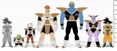 DBR Ginyu Special Squad by The-Devils-Corpse on DeviantArt