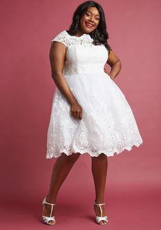 e9950e7681f1b Chi Chi London Exquisite Elegance Lace Dress in White Wedding Dresses Under  500