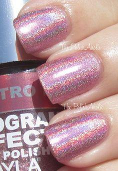 Layla Holo ~ Retro Pink