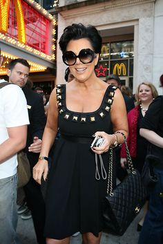 Kris Jenner Quilted Leather