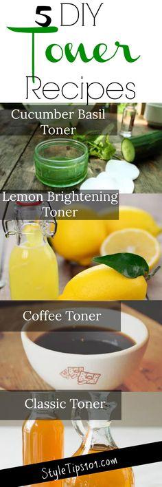 DIY Toner Recipes