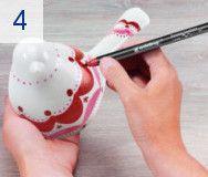 Decorar porcelana con rotuladores edding 4200 - edding.com