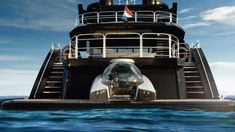 U-Boat Worx brings us NEMO, a Lightweight Luxury Submersible Odysseus And The Sirens, Power To Weight Ratio, Roman Architecture, Yacht Design, Super Yachts, Sea And Ocean, Underwater World, Submarines, Romanesque