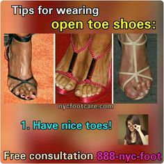 Show off your #feet Call #NYC #FOOTCARE 888-nyc-foot / nycfootcare.com / 212.385.2400 #nycfootcare #bunion #nypodiatrist #hammertoes #bunions #nj #feet #footcare #bunion #hammertoe #podiatry #podiatrist #foot #footpain #downtown #cosmeticfootsurgery...
