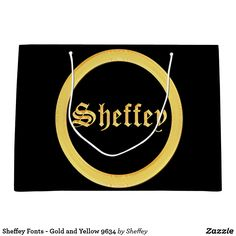 Sheffey Fonts - Gold and Yellow 9634