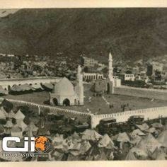 Masjid Al  khaif - Mina .. the prophet (sal) prayed at this mosque  and said that 70 prophets prayed here before  him.# Mecca. An archives  pic.
