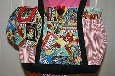 marvel baby shower   Marvel-Comics-Baby-Diaper-Bag-BIB-Pockets-Baby-Shower-Gift-Thor-Iron ...