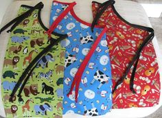 from these hands - Tutorials - Child's Apron Tutorial