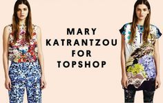 Mary Katrantzou for Topshop