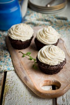 Chocolate muffins with potato - my favourite muffins. Thanks to potatoes, these muffins are really moist and yummy.