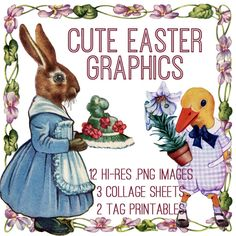 Emily and I have added another Amazing Bundle to our new site The Graphics Fairy Premium Membership!! This week's Bundle is an Adorable Easter Graphics Kit!  This Bundle includes: 12 high resolution transparent Easter animals & frames (.png) 2 printable tag sheets (.pdf) 3 printable collage sheets (.pdf) In this collection we are offering …