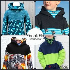 Childrens Sewing Patterns, Sewing For Kids, Colour Blocking Fashion, Jupe Short, Boys Clothes Style, Hooded Sweatshirts, Hoodies, Pullover Hoodie, Make Your Own Clothes