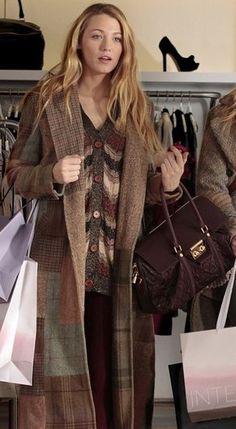 gossip girl winter fashion Gossip Girl Serena Van der Woodsen Blair Waldorf