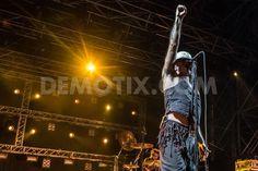 Litfiba performs live at Traffic Festival 2014