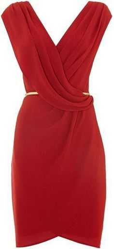 Untold Red Dress Wrap Over Check out the website to see Look Fashion, Fashion Beauty, Womens Fashion, Mode Outfits, Mode Style, Pretty Dresses, Dress To Impress, Beautiful Outfits, Dame