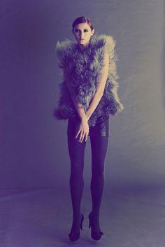 fashion model, styling, edgy