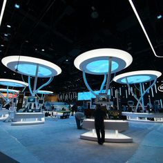 Intel exhibit design. If you like this, you're going to love these TriadCreativeGroup.com