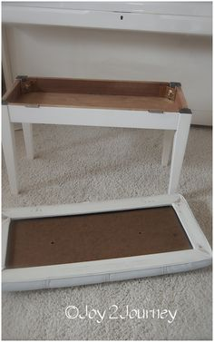 Recovering a Piano bench w/ hinged top.