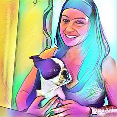 Letting my pre-workout (ENERGIZE) kick in and getting some snuggles from this one-eyed girl! She is totally cheering me up today!! I never thought that I would ever own a small dog  but she's such a joy in to the boys! Where are all my dog mommas at??!!