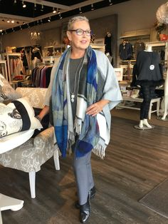 September 2016- Casual looks Lux in fall layers from Eileen Fisher. This is one of the looks that will be presented at Shepherd's Fall Fashion Week.