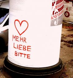 Mehr Liebe bitte