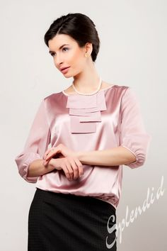 Платья и блузки из натурального шелка